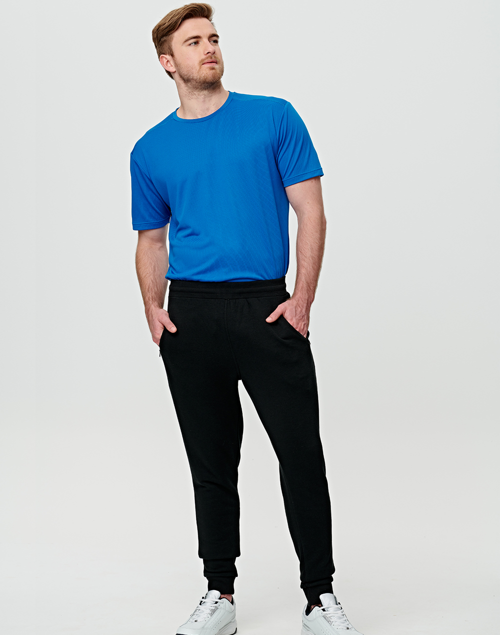 TP25 ADULTS FRENCH TERRY TRACK PANTS
