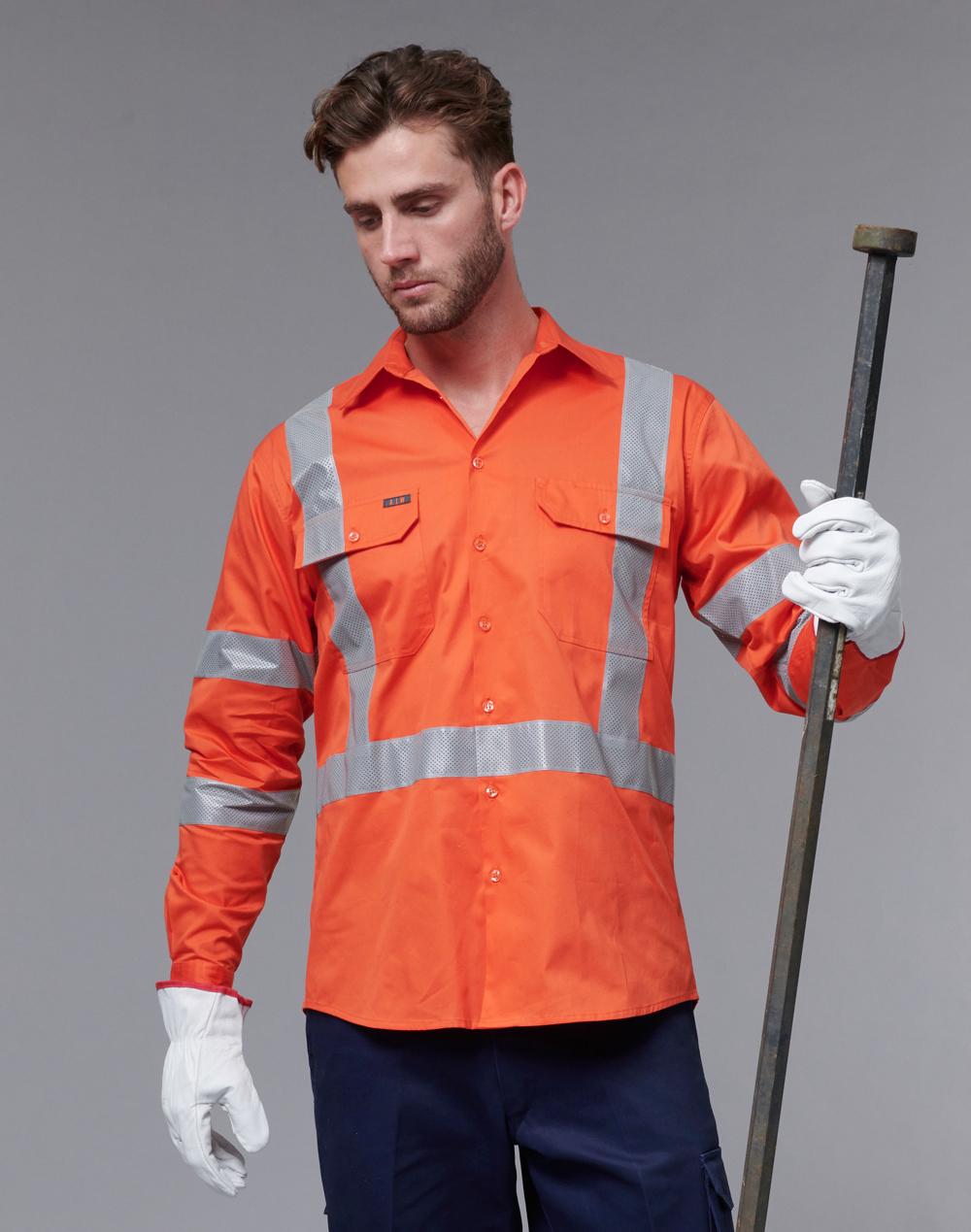 SW66 NSW Rail Lightweight Safety Shirt