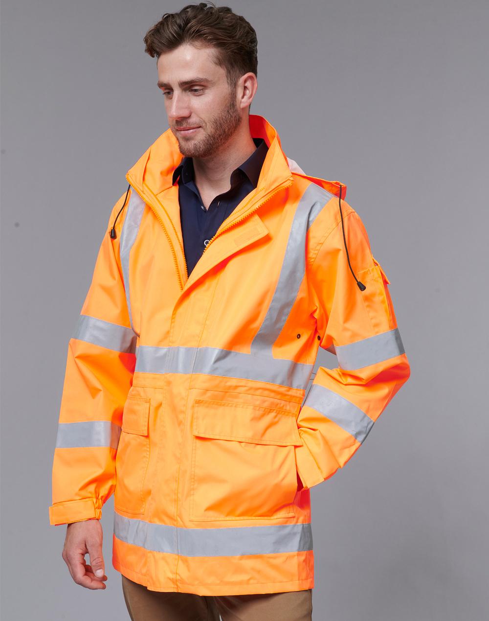 SW75 VIC Rail Hi Vis Safety Jacket - Unisex