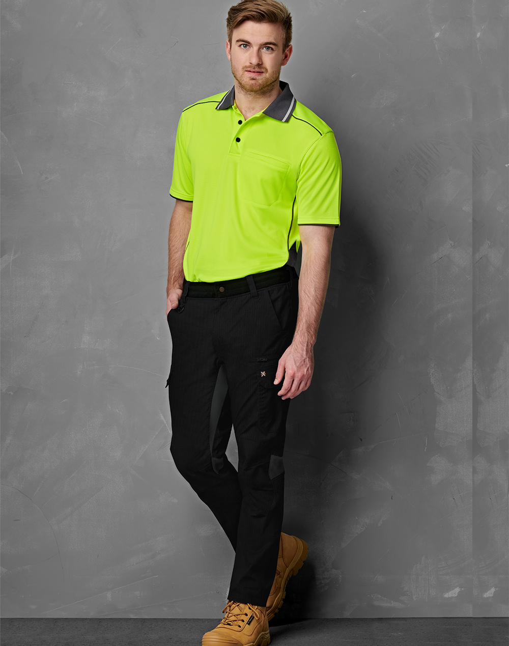 WP24 UNISEX RIPSTOP STRETCH WORK PANTS